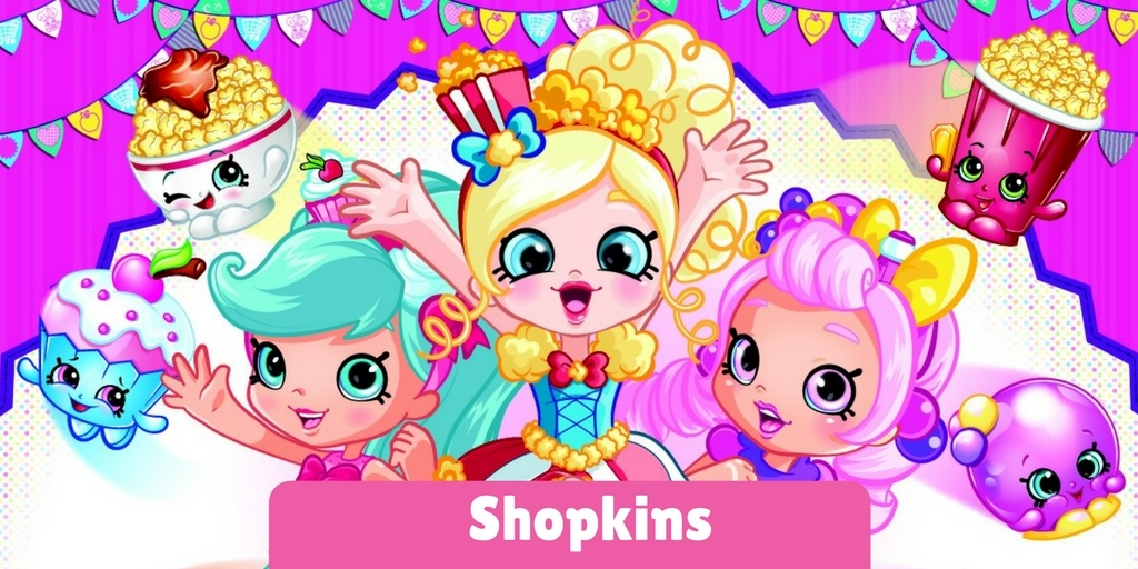 Shopkins Toys and Merchandise: Why People Are So in Love With Them?